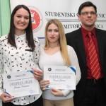 Najbolji studenti u Zenici Dženana Smajić i Selma Basara