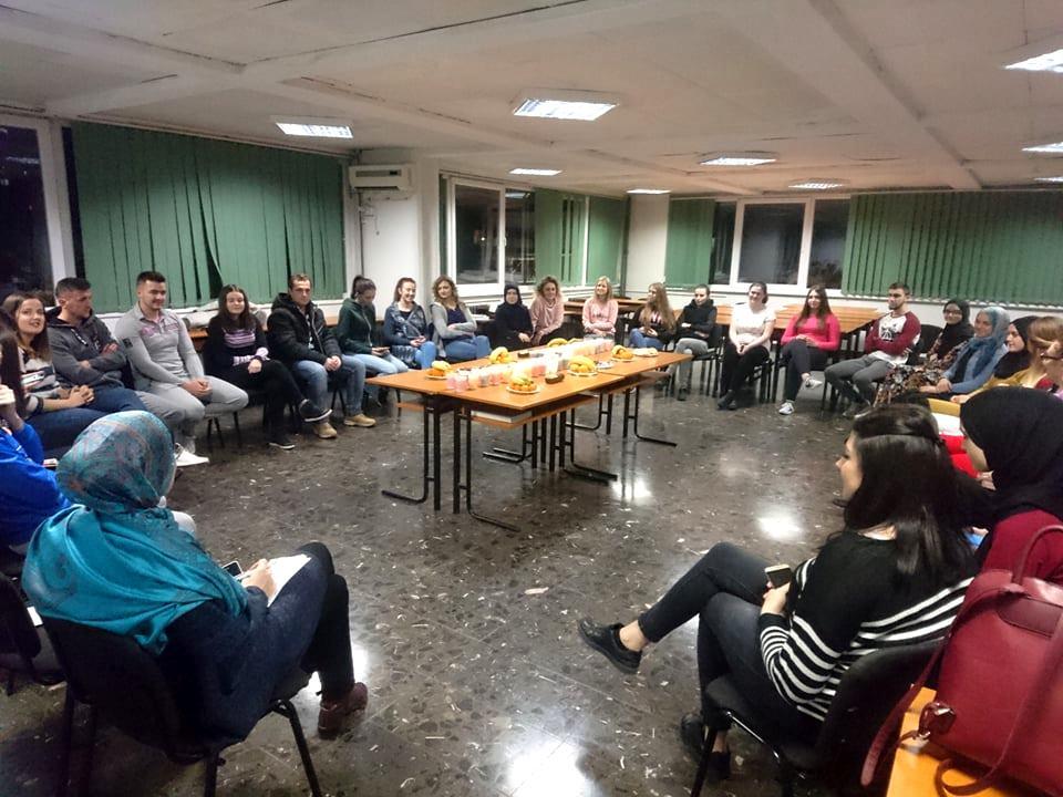 Druženje sa studentima Studentskog centra u Zenici